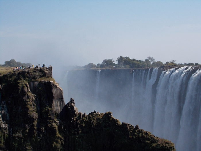 世界遺産ビクトリアの滝!!まずはザンビア編 (9)