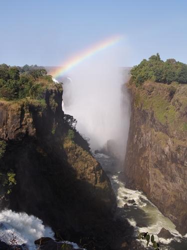 世界遺産ビクトリアの滝2回目!ジンバブエ編 (17)