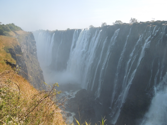 世界遺産ビクトリアの滝!!まずはザンビア編 (14)