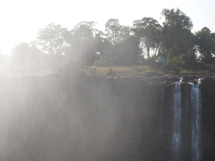 世界遺産ビクトリアの滝2回目!ジンバブエ編 (30)