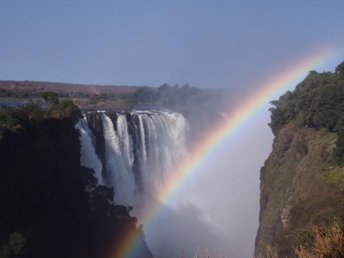 世界遺産ビクトリアの滝2回目!ジンバブエ編 (19)