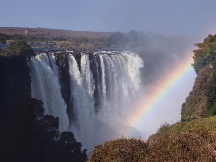 世界遺産ビクトリアの滝2回目!ジンバブエ編 (22)