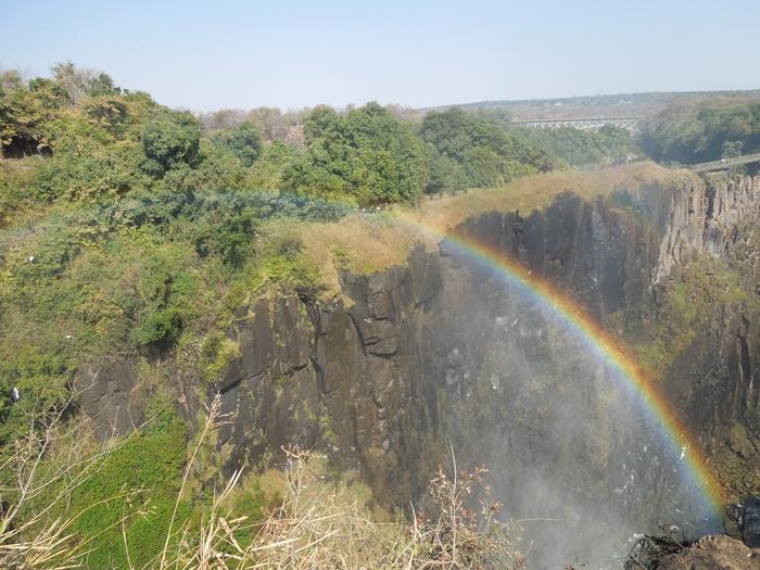 世界遺産ビクトリアの滝!!まずはザンビア編 (11)
