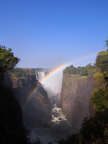 世界遺産ビクトリアの滝2回目!ジンバブエ編 (14)
