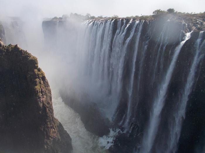 世界遺産ビクトリアの滝!!まずはザンビア編 (7)