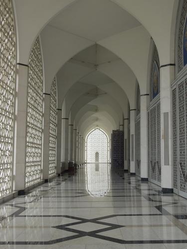クアラルンプール観光2 青とピンクのモスク