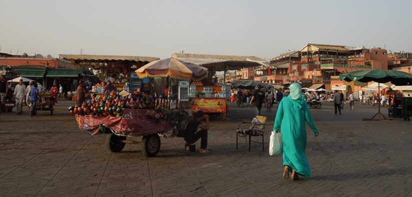 【モロッコ09移動情報】アイトベンハッドゥからマラケシュ