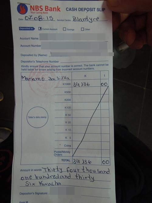 モザンビークビザpart2 ブランタイアで取得!