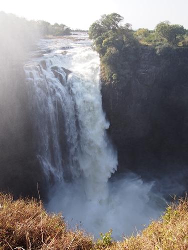 世界遺産ビクトリアの滝2回目!ジンバブエ編 (21)