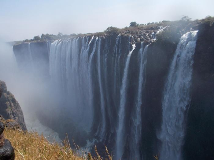 世界遺産ビクトリアの滝!!まずはザンビア編 (2)