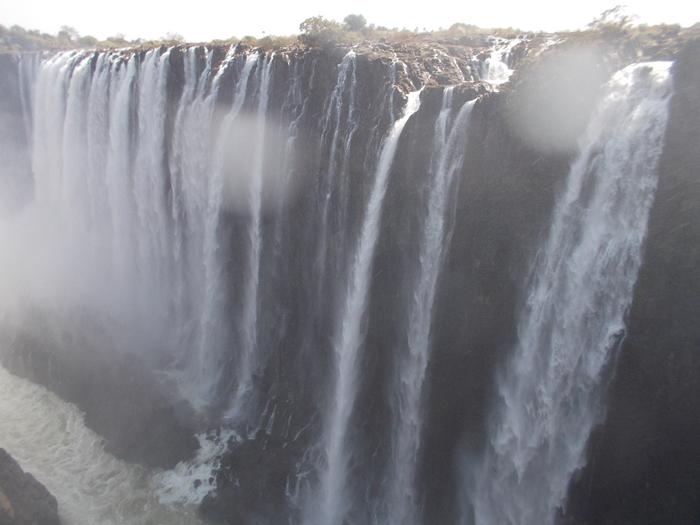 世界遺産ビクトリアの滝!!まずはザンビア編 (8)