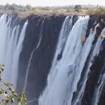 【ザンビア04】世界遺産ビクトリアの滝!!まずはザンビア編