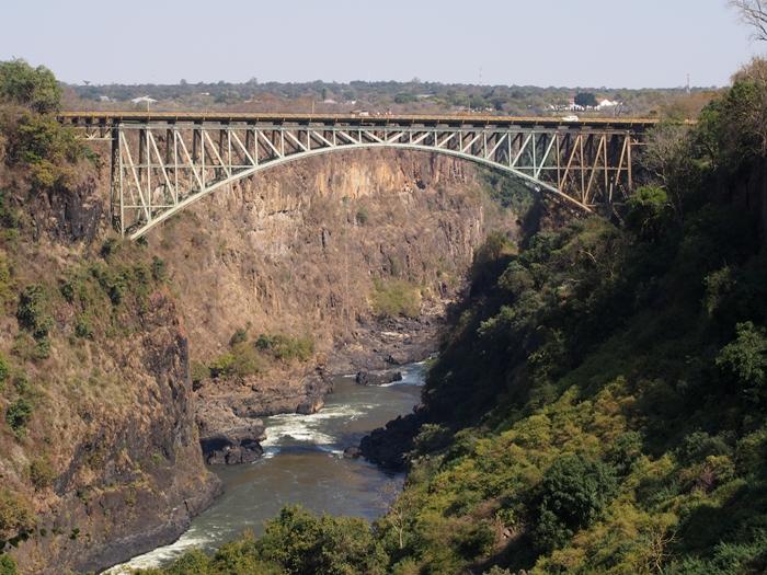 世界遺産ビクトリアの滝!!まずはザンビア編 (1)