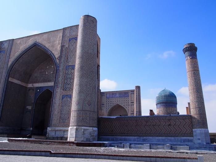 サマルカンド観光後編 でっかいモスクとたくさんのお墓、そして蘇ったサマルカンド・ペーパー (18)