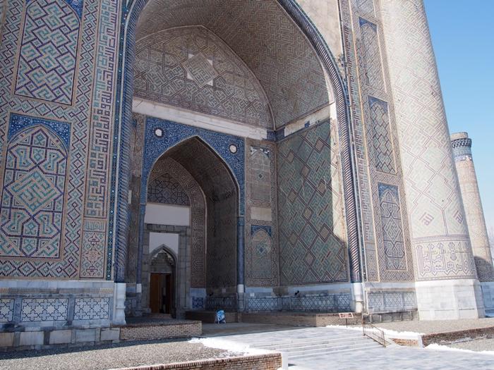 サマルカンド観光後編 でっかいモスクとたくさんのお墓、そして蘇ったサマルカンド・ペーパー (11)