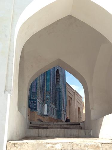 サマルカンド観光後編 でっかいモスクとたくさんのお墓、そして蘇ったサマルカンド・ペーパー (7)