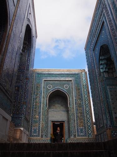 サマルカンド観光後編 でっかいモスクとたくさんのお墓、そして蘇ったサマルカンド・ペーパー (27)