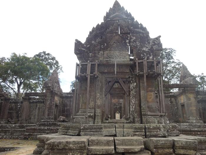 カンボジアもう一つの世界遺産、プレアヴィヒア (7)