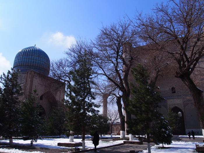 サマルカンド観光後編 でっかいモスクとたくさんのお墓、そして蘇ったサマルカンド・ペーパー (13)