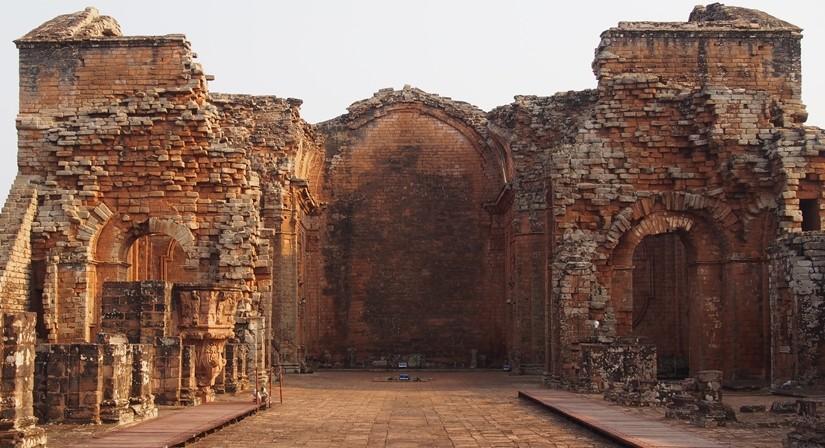 二人きりの世界遺産!パラグアイ唯一の世界遺産 トリニダー遺跡