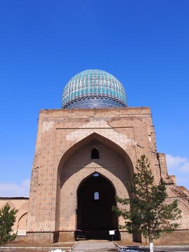 サマルカンド観光後編 でっかいモスクとたくさんのお墓、そして蘇ったサマルカンド・ペーパー (16)
