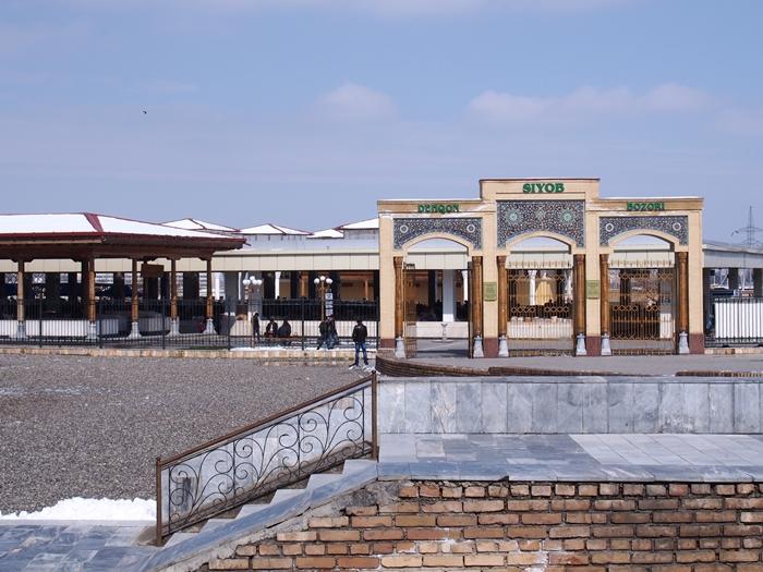 サマルカンド観光後編 でっかいモスクとたくさんのお墓、そして蘇ったサマルカンド・ペーパー (12)