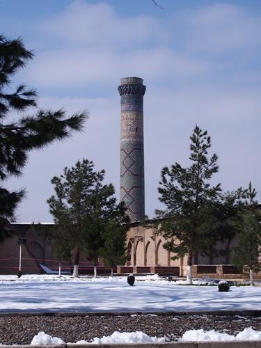 サマルカンド観光後編 でっかいモスクとたくさんのお墓、そして蘇ったサマルカンド・ペーパー (14)