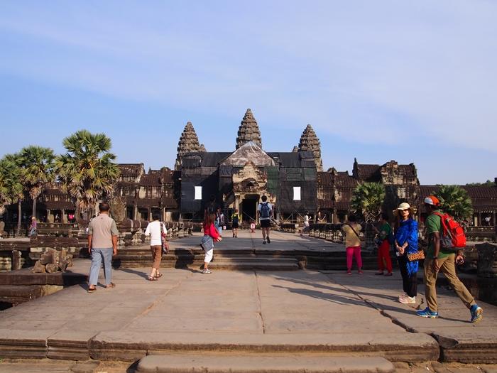 世界遺産アンコール遺跡群1 東南アジア屈指の遺跡アンコールワット (1)
