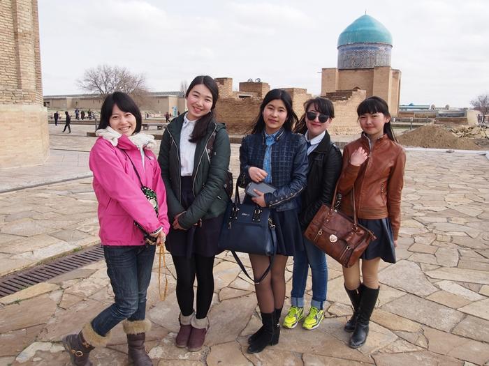 【移動・観光情報】シムケントからトルキスタンにある世界遺産コジャ•アフメド•ヤサウィへ!ラクダと初対面♪ (18)