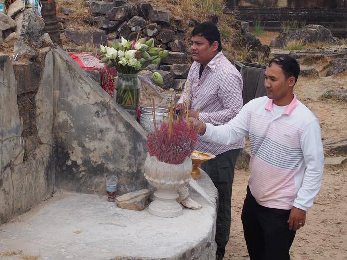 カンボジアもう一つの世界遺産、プレアヴィヒア (21)