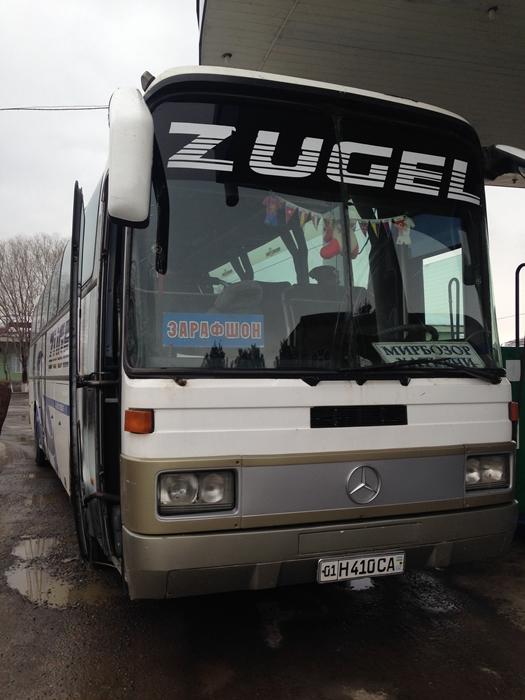 【移動情報】タシュケントからサマルカンド 雪の中のビザ取りとバストラブル (4)