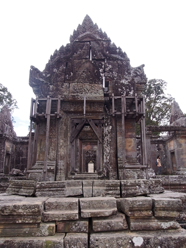 カンボジアもう一つの世界遺産、プレアヴィヒア (18)