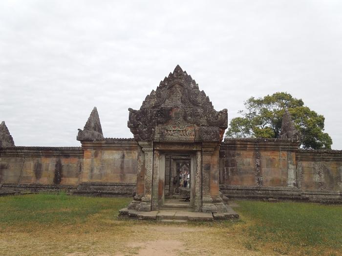 カンボジアもう一つの世界遺産、プレアヴィヒア (9)