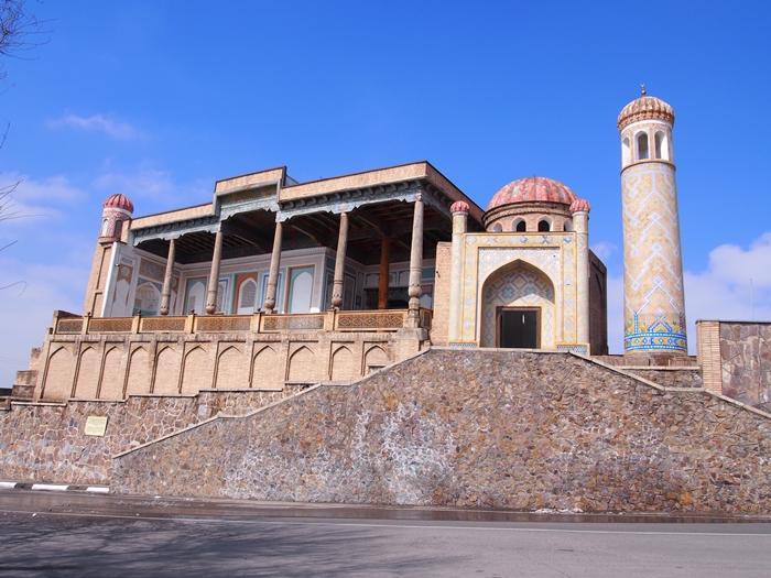 サマルカンド観光後編 でっかいモスクとたくさんのお墓、そして蘇ったサマルカンド・ペーパー (21)