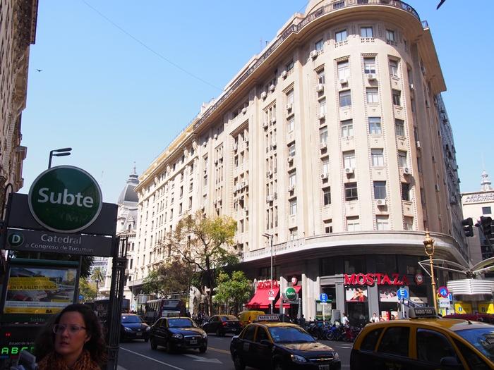 ヨーロッパ風の街並み再び、ブエノスアイレス街歩き!そして疲れた心と体に染み入る日本の味。。