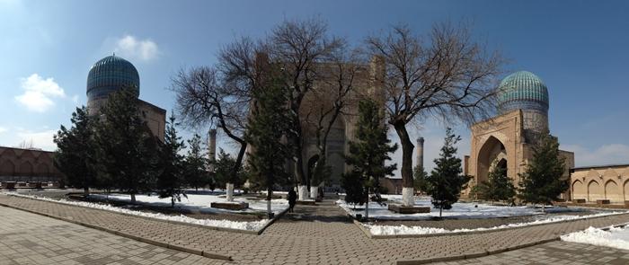 サマルカンド観光後編 でっかいモスクとたくさんのお墓、そして蘇ったサマルカンド・ペーパー (6)