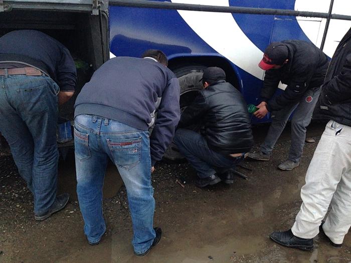 【移動情報】タシュケントからサマルカンド 雪の中のビザ取りとバストラブル (5)