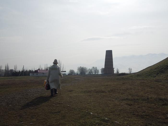 ブラナの塔とバラサグン遺跡、そして三蔵法師の足跡に触れるアク・ベシム遺跡 (5)