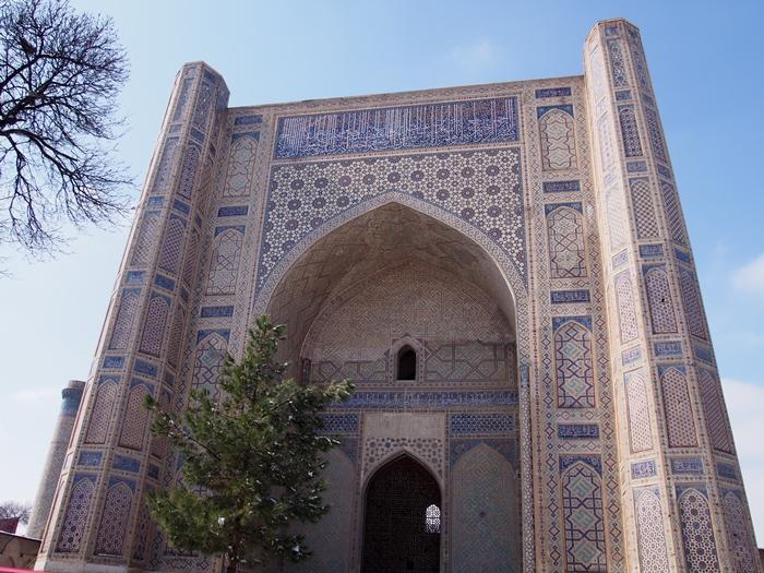 サマルカンド観光後編 でっかいモスクとたくさんのお墓、そして蘇ったサマルカンド・ペーパー (15)