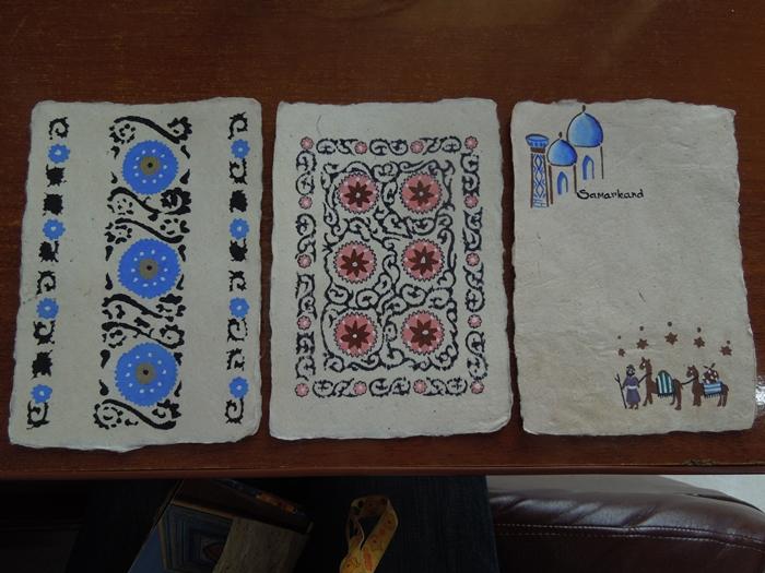 サマルカンド観光後編 でっかいモスクとたくさんのお墓、そして蘇ったサマルカンド・ペーパー (5)
