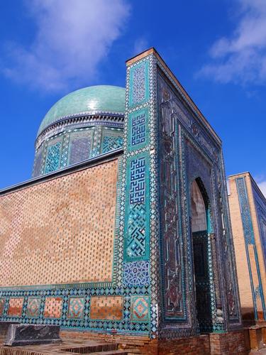 サマルカンド観光後編 でっかいモスクとたくさんのお墓、そして蘇ったサマルカンド・ペーパー (25)