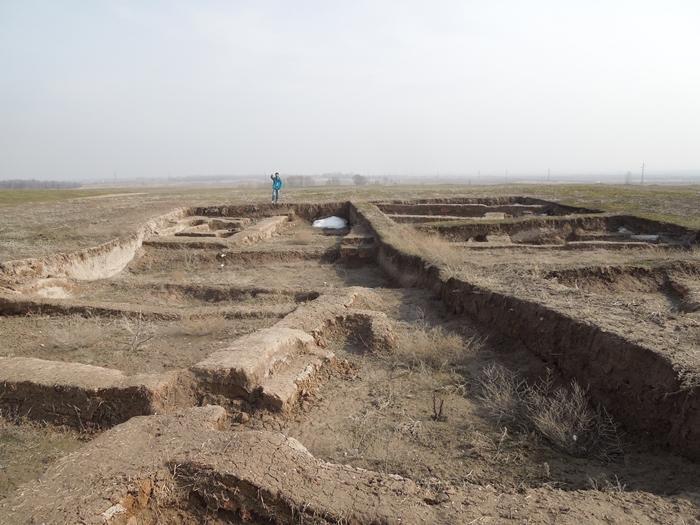 ブラナの塔とバラサグン遺跡、そして三蔵法師の足跡に触れるアク・ベシム遺跡 (9)