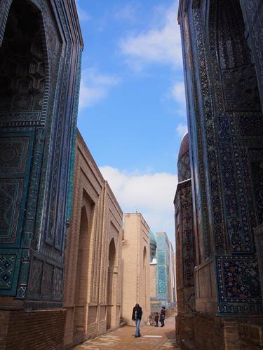 サマルカンド観光後編 でっかいモスクとたくさんのお墓、そして蘇ったサマルカンド・ペーパー (24)