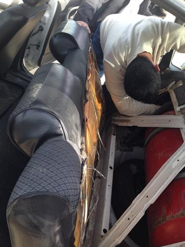 【移動情報】ブハラからヒヴァ おまぬけなドライバーの残念なトラブルつき (8)