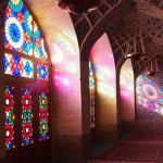 【イラン04】世界遺産より印象に残ったマスジェデ・ナスィーロル・モスク、別名ピンク・モスク。