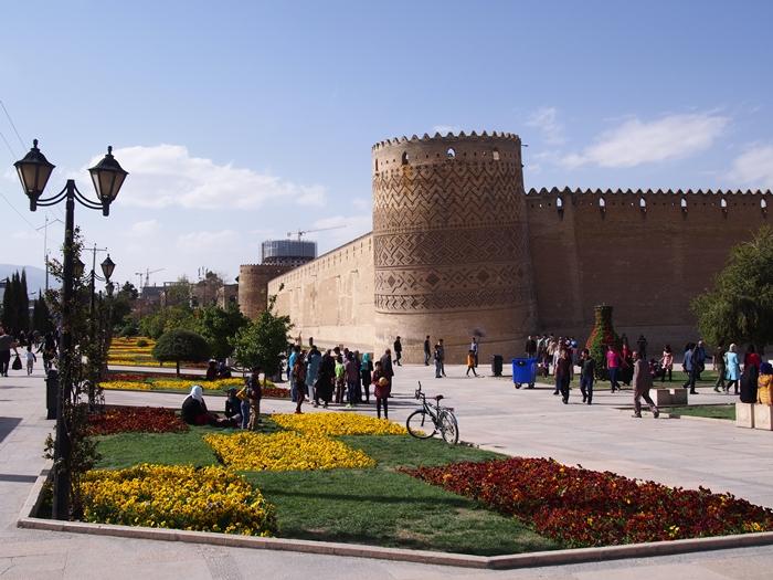 世界遺産より印象に残ったマスジェデ・ナスィーロル・モスク、別名ピンク・モスク。 (11)