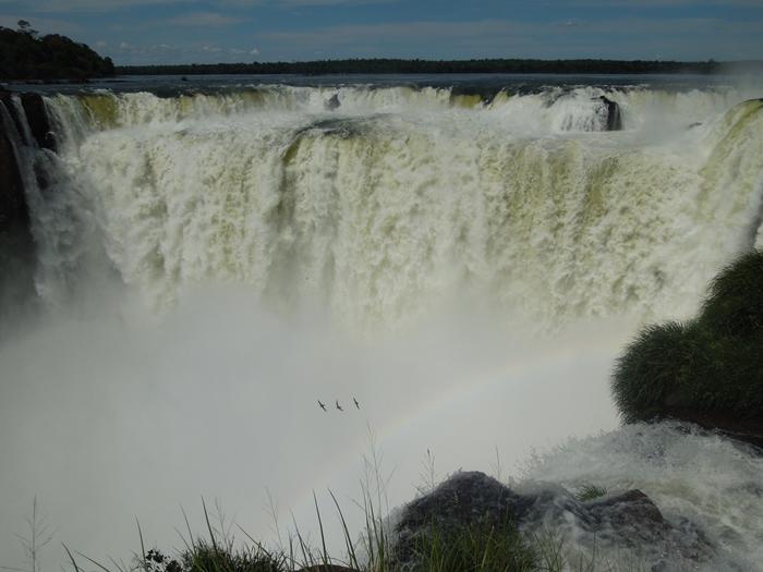 世界遺産のイグアスの滝、まずはアルゼンチン側~悪魔の喉笛迫力ありすぎます~ (13)