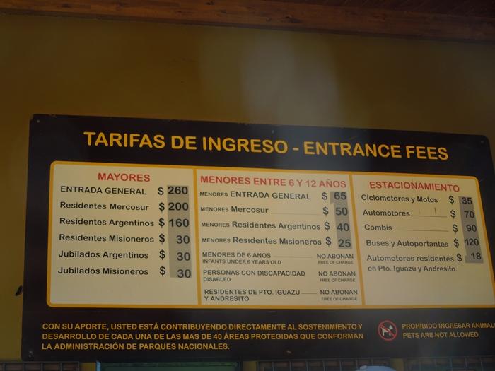 世界遺産のイグアスの滝、まずはアルゼンチン側~悪魔の喉笛迫力ありすぎます~ (3)
