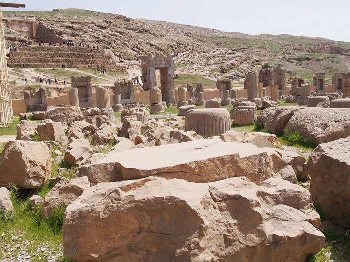 世界遺産ペルセポリス ペルシャ繁栄の面影を残すアパダーナのレリーフに釘付け (24)