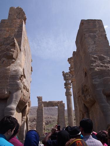 世界遺産ペルセポリス ペルシャ繁栄の面影を残すアパダーナのレリーフに釘付け (17)